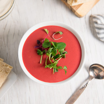 Beet soup, real food recipes, plant-based recipes, vegan recipes, healthy recipes, soup recipes